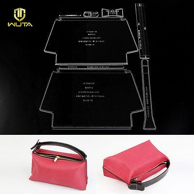 Wuta акрил косметичка шуфель мини дамская ручная женская сумка узор WT948