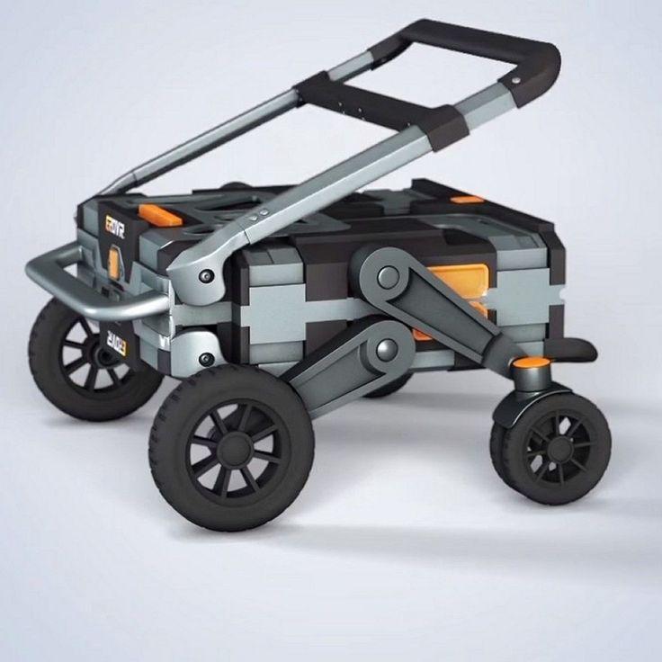イカす効果音とともに合体変形するロボットは男の子のロマンですが、クラウドファンディングIndiegogoで資金調達中のカート「EROVR」はまさに合体変形ロボ。カッコいい!