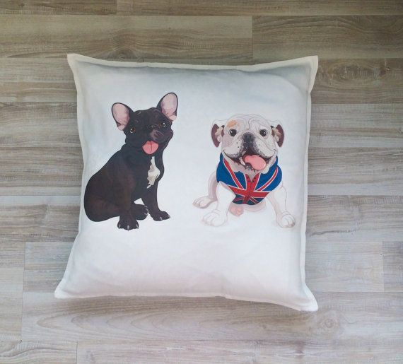 Free shipping dogs pillowcase 20'' x 20'' 50 cm x by BeTheOriginal