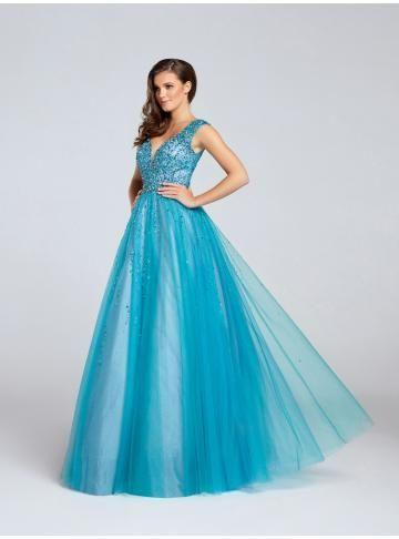 Elegantní Tyl večerní šaty