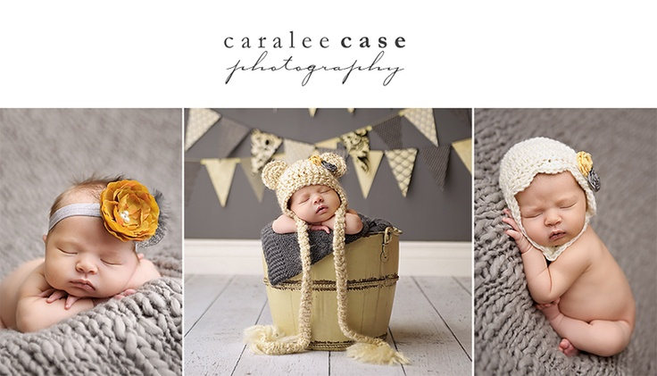 Photo Idea for a newborn baby session