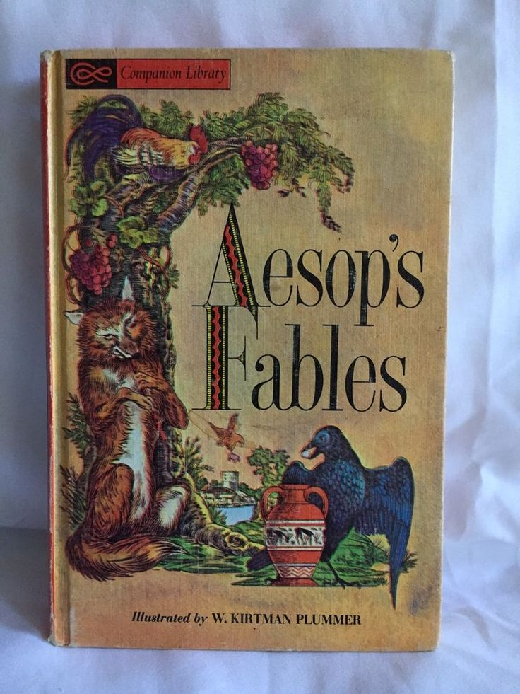Aesops Fables Vintage Book 1963 Grossest And Dunlop Companion Library | eBay