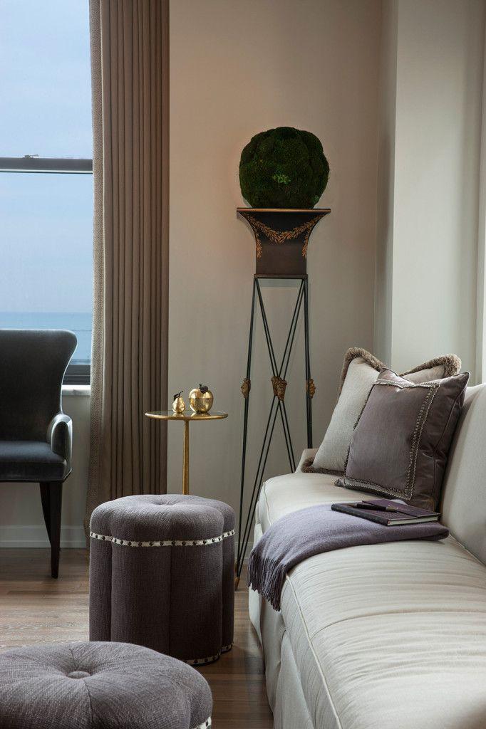 James Thomas Included Niermann Weeks Italian Jardiniere In This Living Space Niermannweeks