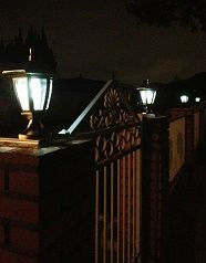 #Solar Deck Post Light Duration in the Fall and Winter vs. Spring and Summer - #why is there a difference? Natures Solar Lights Blog