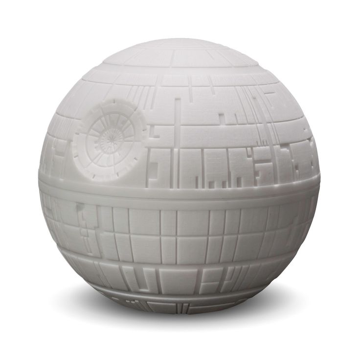 Illumi-Mate Star Wars Death Star Grey Night Light | Departments | DIY at B&Q