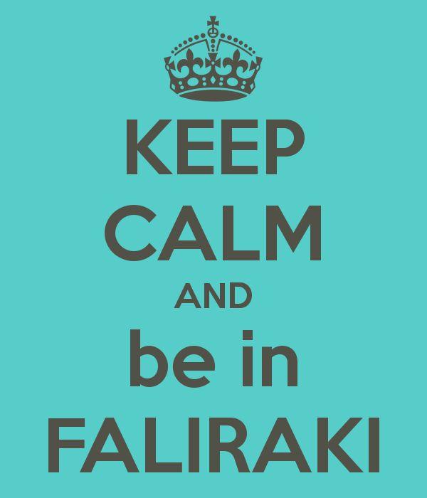 Keep Calm and be in #Faliraki!!! #Rhodes #Rodos #Greece