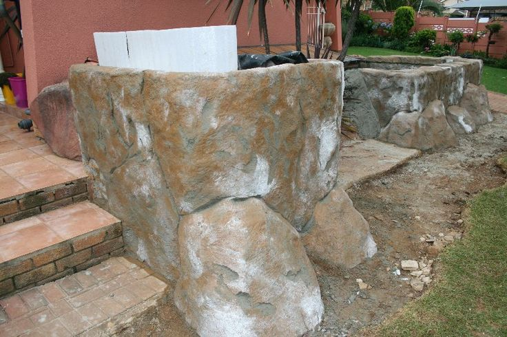 Best 25 Faux Rock Ideas On Pinterest Diy Faux Rocks Artificial Rocks And Concrete Septic Tank
