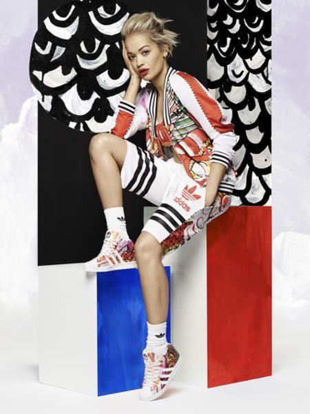 Rita Ora presenta la Dragon Collection con adidas Originals