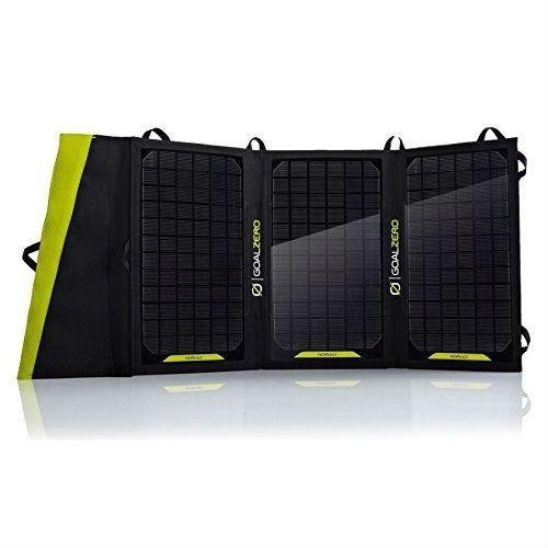 20-Watt Folding Portable Solar Panel Phone Table Battery Charger