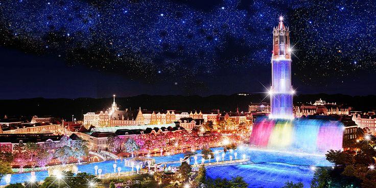 1年中イルミネーションが楽しめる長崎県・ハウステンボスの「光の王国」。去年より200万球増やした「冬の光の王国」が2015年10月31日から始まります。