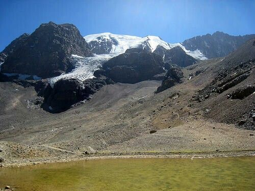 Glaciar La Paloma, Chile