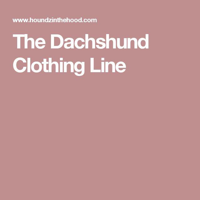 The Dachshund Clothing Line