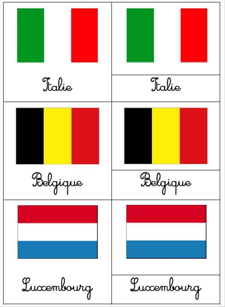 Bien-aimé Les 25 meilleures idées de la catégorie Les drapeaux des pays sur  KP86