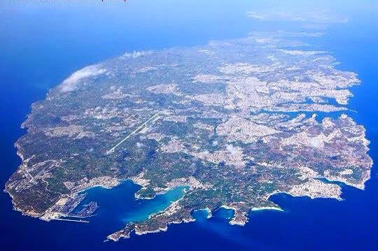 The island in the middle of the Mediterranean, Malta.