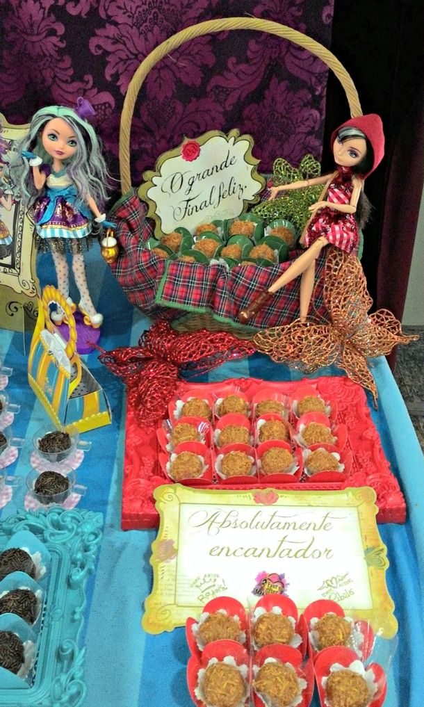 tellastella festa tema Ever After High