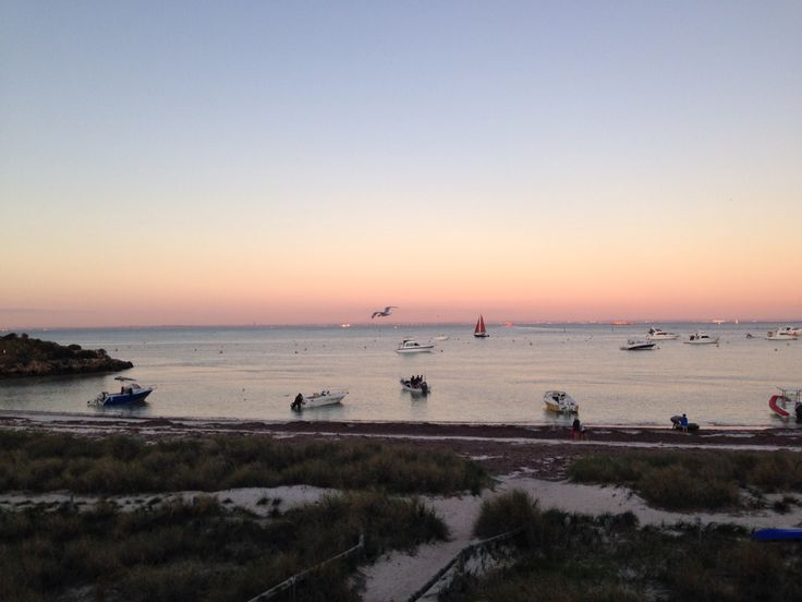 Sunset at Thomson's Bay Rottnest Island Western Australia. End of May 2015.