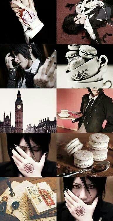 Black butler - Sebastian Michaelis Cosplay