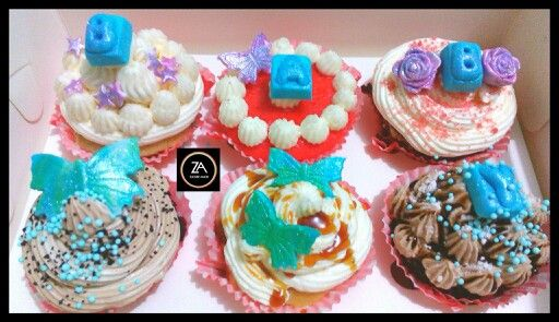 Baby Announcement Cupcakes (Assorted Flavours)  #cupcakes #baby shower #ZuckerAmor