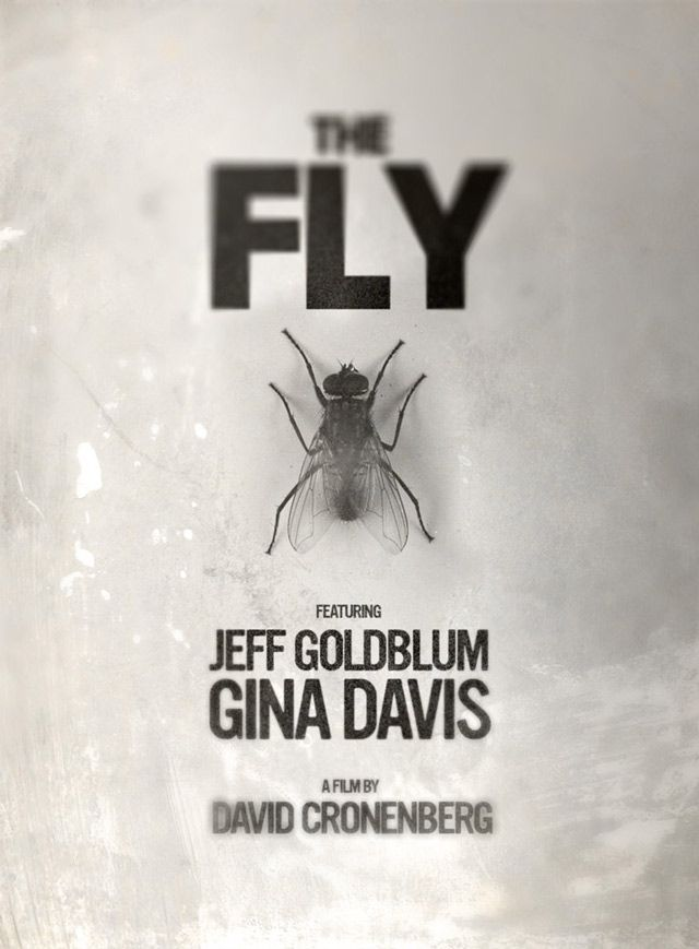 The Fly movie posters remade by fans for design
