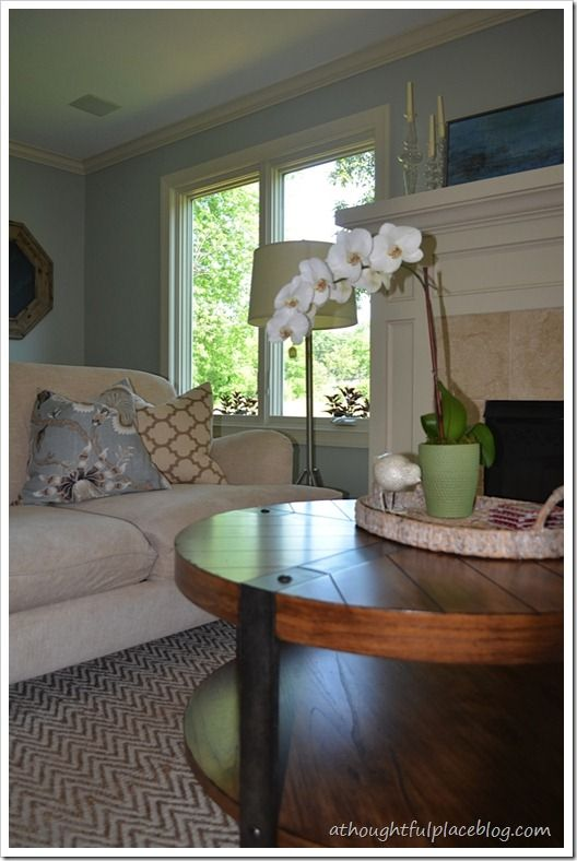 Client Living Room: Before U0026 After From Casey Grace Design