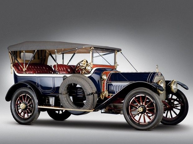 1913 Alco Six Five-Passenger Touring. (Manufactured automobiles under the Alco brand from 1905-1913)