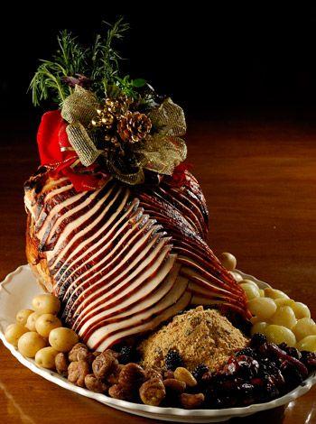Peru de Natal com cebolinhas glaceadas e batatas douradas - Guia de Fim de Ano - GNT