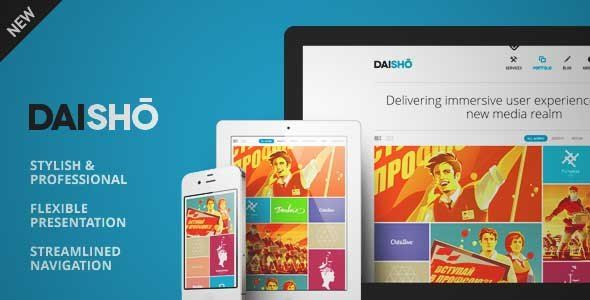 Download and review of Daisho - Flexible WordPress Portfolio Theme, one of the best Themeforest Creatives themes {Download & review at Review and download at} { -> }http://best-wordpress-theme.net/daisho-flexible-portfolio-download-review/