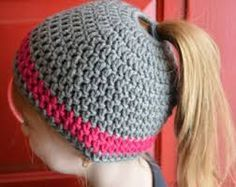 Image result for ponytail hat crochet pattern free