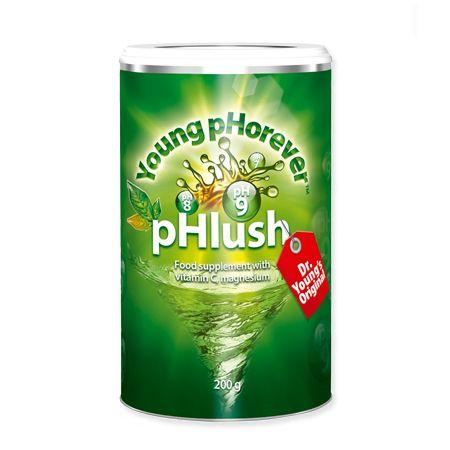 PHLUSH pHlush es una combinación de óxido de magnesio, vitamina C, carbonato de sodio y otros ingredientes que actúan como un laxante natural, dejando el estómago y los intestinos alcalinizados y descongestionados. pHlush es un excelente limpiador para los órganos de tu sistema digestivo, mejorando su vitalidad y funcionamiento. http://www.alkalinecare.com/productos/phlush---young-phorever/51