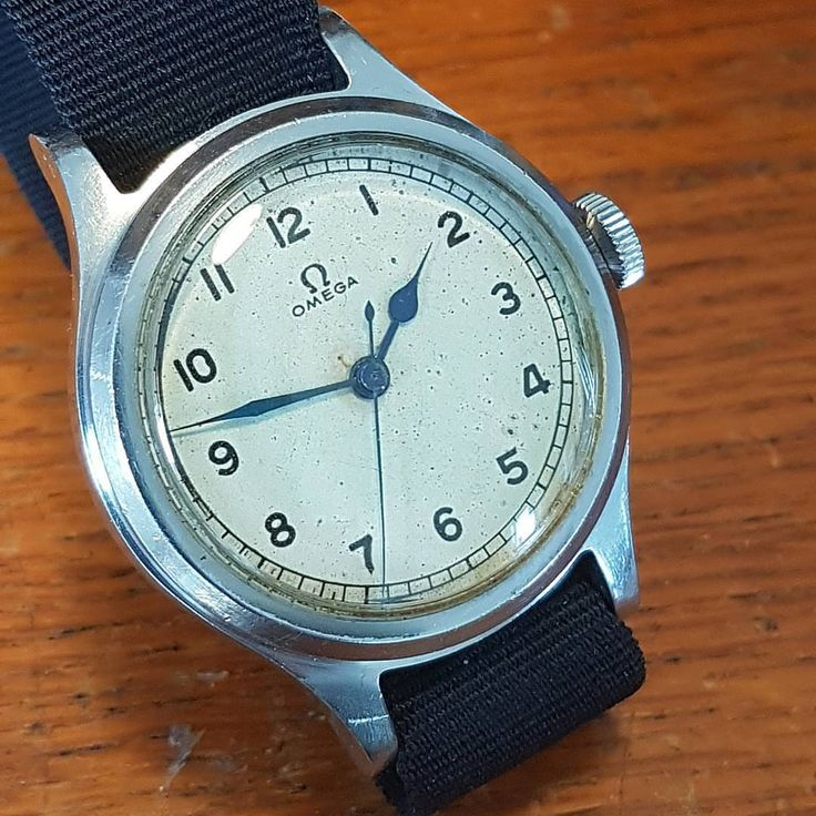 Omega brilliant British military issue 1956. One of various airforce 6b/159 variations by numerous watch company's. Rare and much desired original piece #militarywatch #britishmilitary...