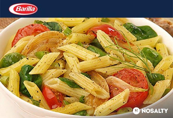 Friss-zöldséges és olaszfűszeres mini penne