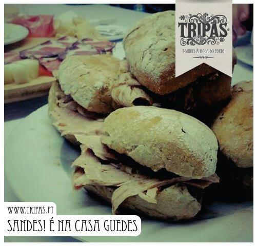 """Best """"sandes"""" de pernil/ sandwiches at Oporto """"Casa Guedes"""""""