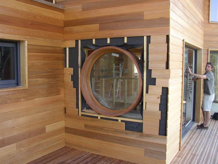 red cedar extension bois pinterest extension bois bardage et extension. Black Bedroom Furniture Sets. Home Design Ideas