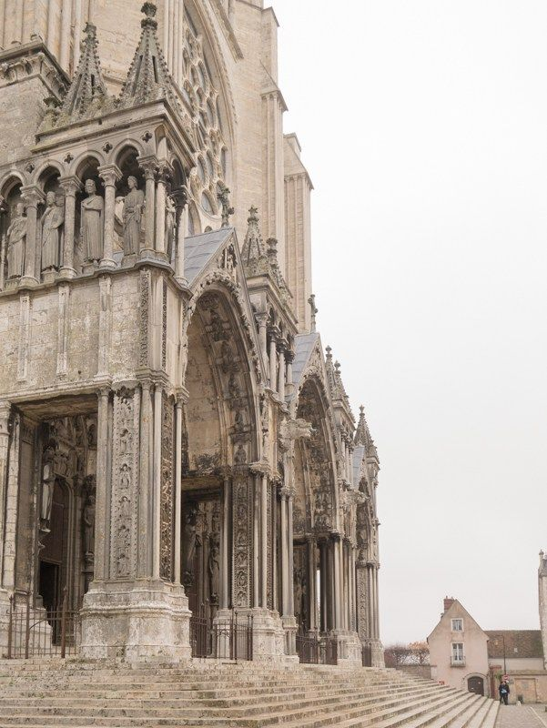 The Chartres Cathedral : a treat for all Gothic Architecture