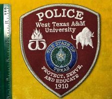 WEST TEXAS A&M POLICE PATCH