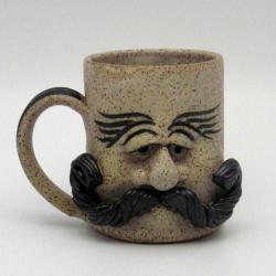 For Garik  #237 Face Mug - Man $25  http://www.wizardofclay.com/moreinfo.cfm?Product_ID=238=4#