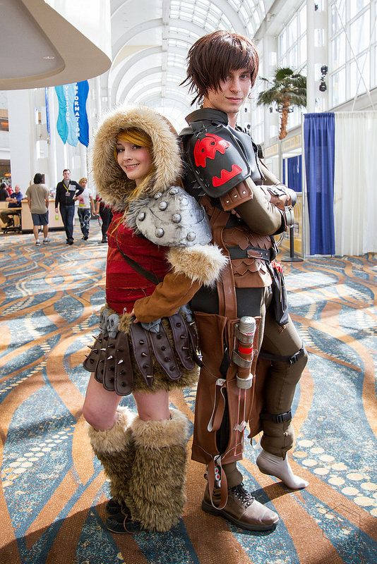 Astrid and Hiccup | Long Beach Comic Con 2014