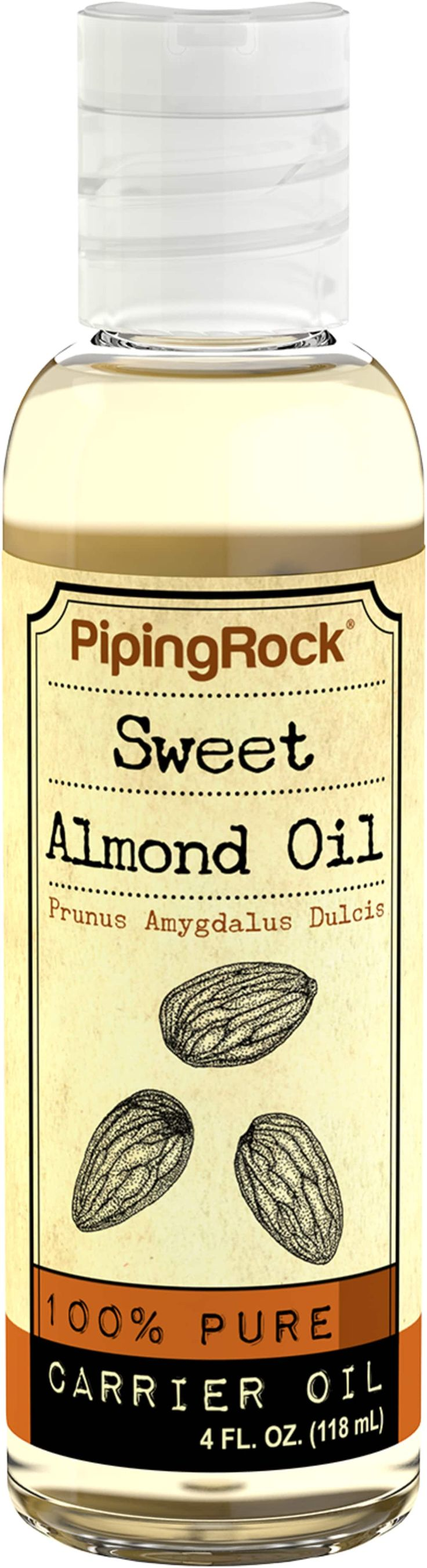 Buy Discounted Sweet Almond Oil 4 Liquid Vitamins & Supplements online at PipingRock.com