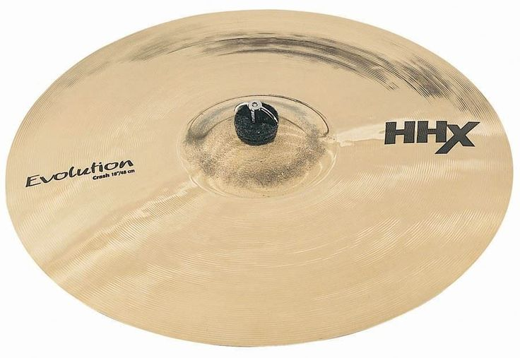 "Sabian 17"" HHX EVOLUTION Brilliant Crash Cymbal 