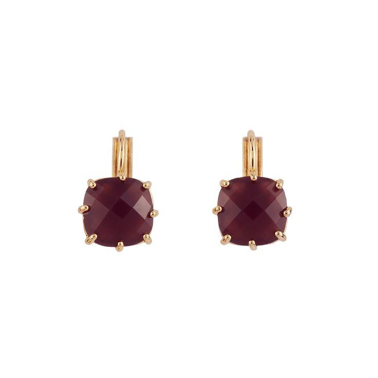 La Diamantine earrings - purple