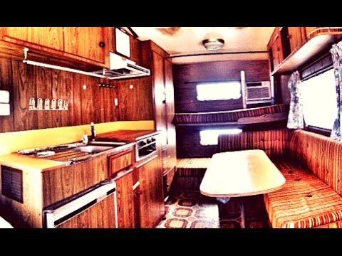 Renovating An Old Rundown Vintage Caravan   Pull Behind Camper