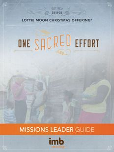 """IMB """"The Week of Prayer"""", Nov. 30-Dec. 7, encourages churches to pray daily for the international missions work and missionaries the Lottie Moon Christmas Offering supports. Mission Leader's Guide available here."""