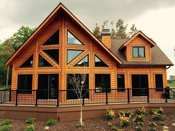 Diy Home Decor Detail 9324476408 A Beautiful Tranformation For A Delightful Tone For Other Creative Illustration Log Homes Log Home Plans Log Cabin Homes