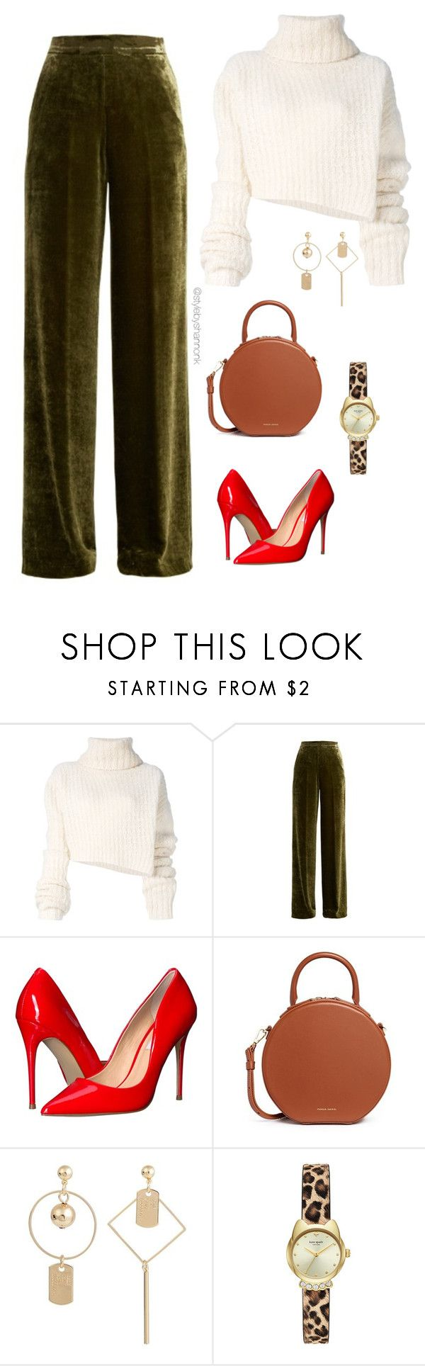 """Women's Fashion"" by stylebyshannonk ❤ liked on Polyvore featuring Ann Demeulemeester, Etro, Steve Madden and Mansur Gavriel"