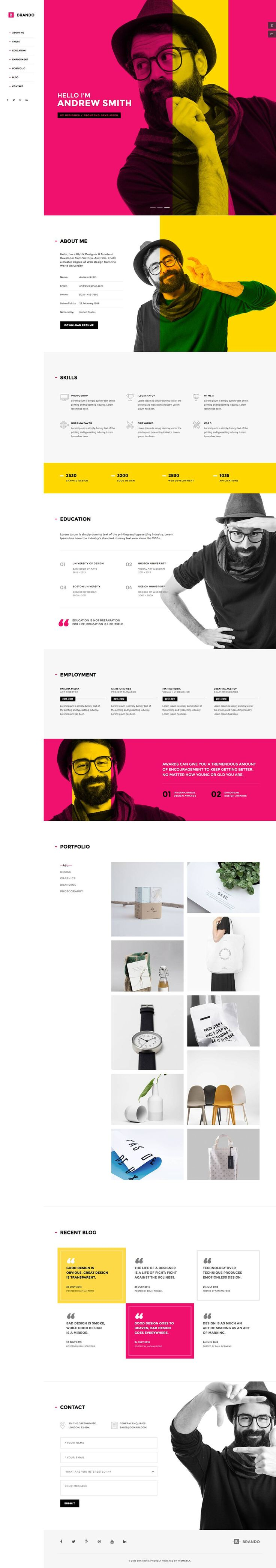 A very clean designed HTML5 Bootstrap template for landingpages and other onepager. Comes with eight premade layouts and four extra pages plus some additional build-in scripts (parallax, progress bars, ajax form validation, contact form etc.)