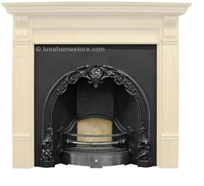 Cast iron fireplace and Fireplace inserts