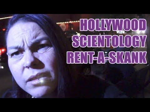 """(1541) RAW: Scientologists use """"Rent-A-Skank"""" to enturbulate protesters - YouTube"""