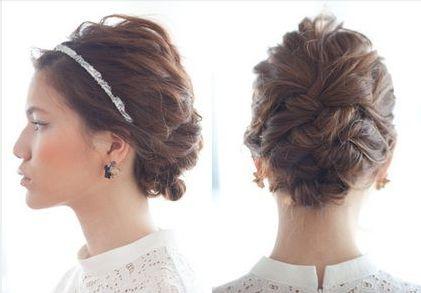 結婚式にお呼ばれするする時、どんなヘアスタイルにしますか?髪型どうしよう〜? いつも悩んでしまう、そんなあなたに。おしゃれで美人度がアップする、今どきモテヘアアレンジスタイルをご紹介致します♡