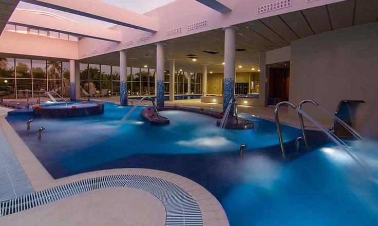 Piscina Dinámica. Spa Marina Senses Ctra. N-332, km. 76, 03194 La Marina, Alicante 965 41 92 00 #Elche #visitelche