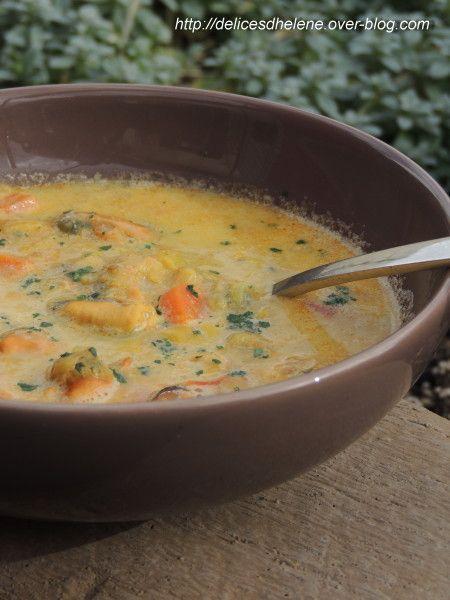 soupe de moules au safran (1)